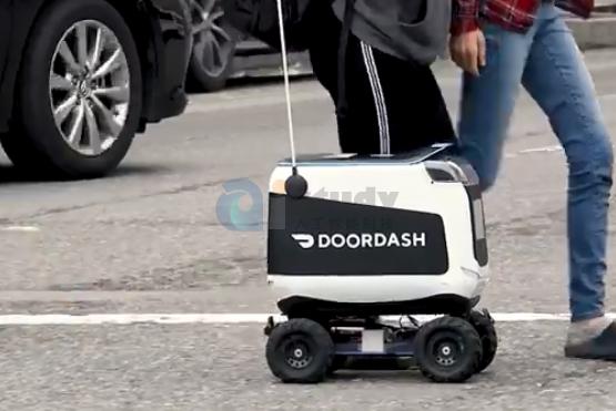 美国送餐机器人爆炸