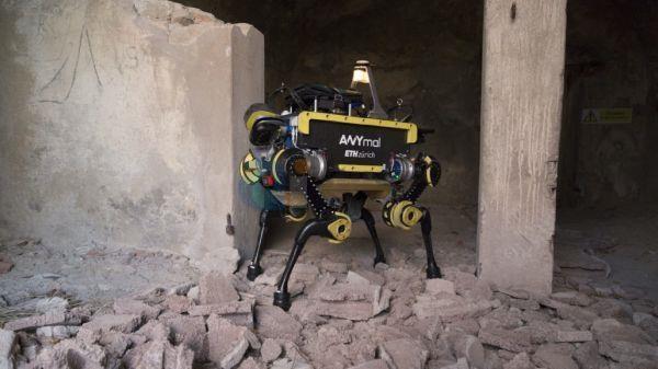 ANYmal四足机器人将替代人类进行危险工作