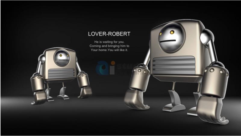 机器人粒子模拟系统脱离概念 它可能会为你捏寿司哦!