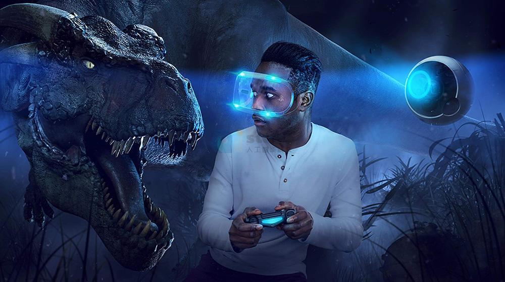 虚拟现实:虚拟现实技术广泛应用到了游戏娱乐、教育、设计、军事、模拟训练