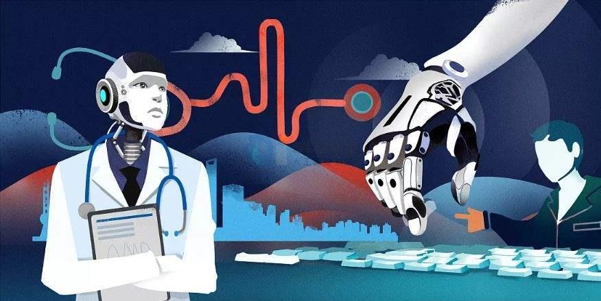 人工智能在一定程度上改善了患者从预防、诊断、治疗到治疗后期生活管理