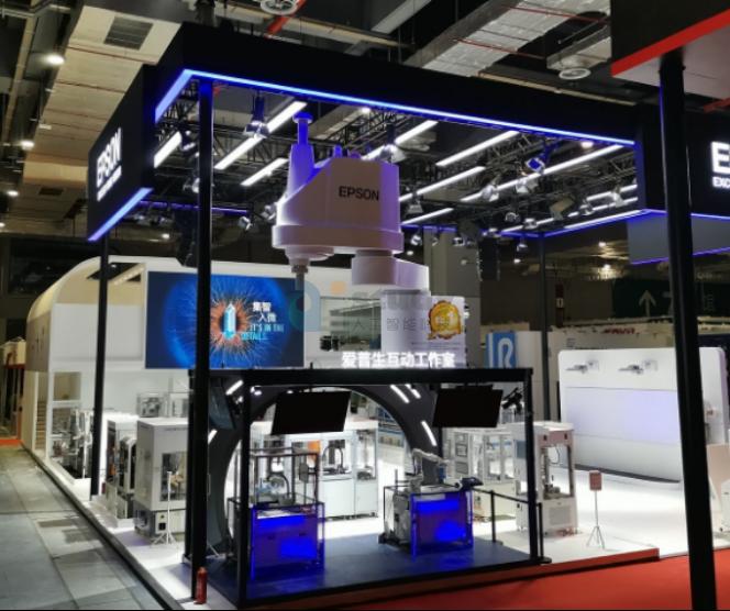 中国与日本机器人的机器人差距,走到爱普生在工博会的展