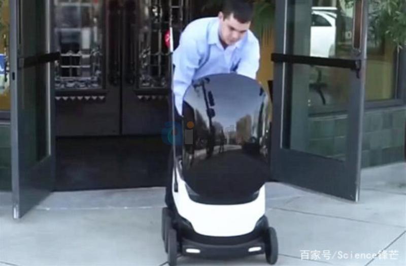 美国推出送外卖机器人,准确将外卖送到顾客手中,外卖小哥要失业