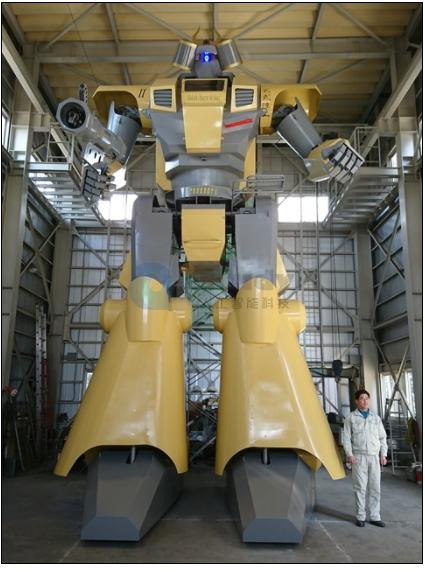 日本小公司研发世界第一大机器人:身高8米 气步枪加持
